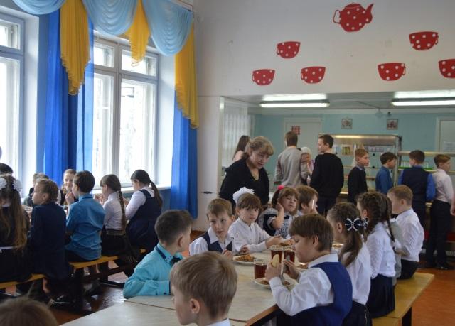 Организация школьного питсания